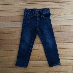 Boys dark denim skinny jeans